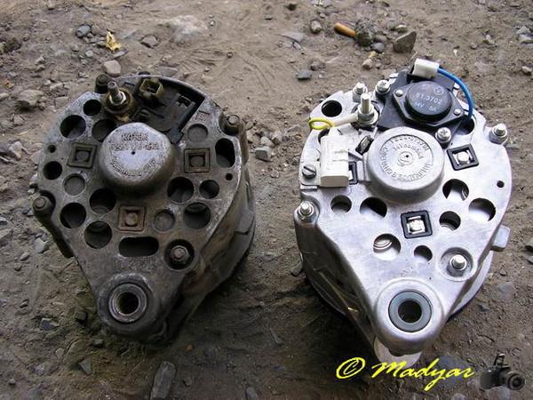 Фото №8 - генератор от ВАЗ 2110 на ВАЗ 2107